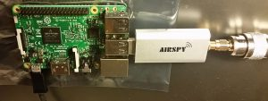 RaspberryPi with Airspy